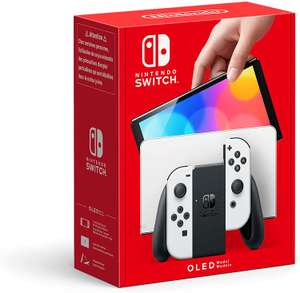 Nintendo Switch OLED Model - White £284.03 (£268 Fee Free + App code) Delivered @ Amazon France