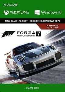 Forza Motorsport 7 Standard Edition (Xbox One/PC) £6.99 @ CDKeys