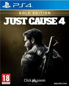 Just cause 4 Gold edition Game exlusice steelbook brand new £8.99 instore or £13.98 online delivery @ GAME