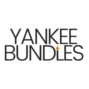 £5 off £40 / £10 off £75 / £75 off £500 with codes @ Yankee Bundles