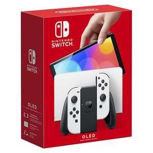 Nintendo SWITCH OLED 64GB White £309.99 / £294.49 Click & Collect or £299.48 delivered Via Totum Unique Code @ Hughes