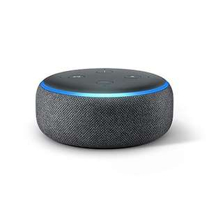Echo Dot (3rd Gen) - Smart speaker with Alexa - Charcoal Fabric - £21.99 @ Amazon