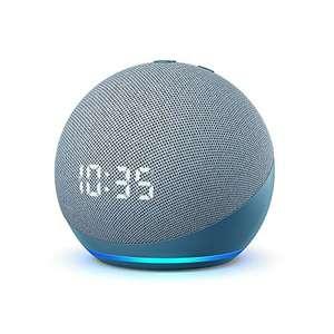 Echo Dot (4th generation)   Smart speaker with clock and Alexa   Twilight Blue - £39.99 @ Amazon