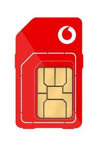 Vodafone 5G Sim Only - Unlimited Minutes and Texts, 100GB data for £16pm (£90 cashback - Effective £8.50pm - 12mo) @ e2save Mobiles