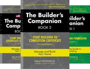 Builder's Companion, Books 1&2: Zero to Completion Certificate, UK/US, Complete Guide to Home Building - Kindle Edition: Free @ Amazon