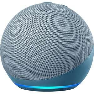 Amazon Echo Dot (4th Gen) Smart Speaker with Amazon Alexa - White/blue, £29 delivered at AO