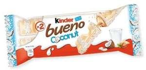 Kinder Bueno coconut double bars 4 for £1.00 @ Farmfoods (Acocks green)