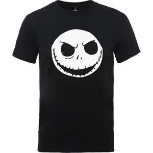Disney The Nightmare Before Christmas t-shirts in various styles and colours for £8.99 delivered @ IWOOT