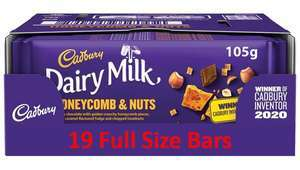 19 x 105g Cadbury Dairy Milk Honeycomb & Nuts Bundle Deal £6.99 @ Farmfoods