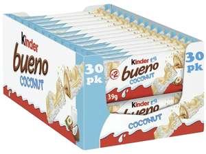 Kinder Bueno Coconut 30 x Twin Bars are £5.99 @ Farmfoods