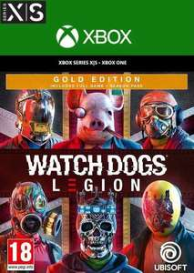Watch Dogs legion Gold edition xbox one / series x/s - £19.99 @ CDKeys