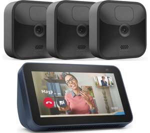 Blink Outdoor Smart Security System with 3 Wireless HD Camera + Echo Show 5 (2021) =£134.97 with code (more in post) @ John Lewis & Partners