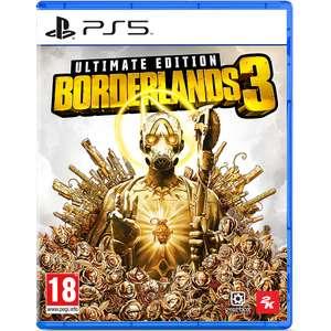 Borderlands 3 Ultimate Edition PS5 £24.98 delivered @ GAME