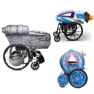 Razor Crest Wheelchair Light Up Cover Set, Star Wars: The Mandalorian + More - £42.95 Click & Collect / £43.95 del, using code @ shopDisney