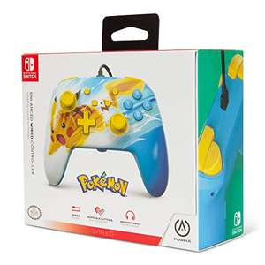 PowerA Enhanced Wired Controller – Pikachu Charge (Nintendo Switch) £14.99 (Prime) / £17.98 (Non prime) Delivered @ Amazon