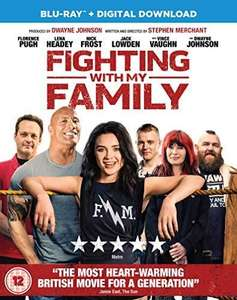Fighting With My Family Blu-ray (2019) Florence Pugh, Merchant (DIR) cert 12 Movie - £2.05 Delivered @ Rarewaves