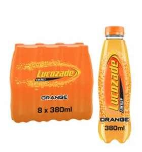 8pk Lucozade Energy Orange £1.99 @ Farmfoods Sutton