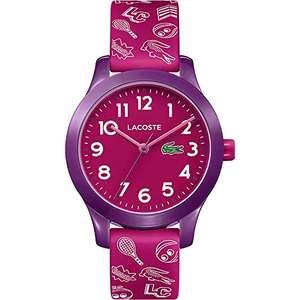 Lacoste Kids Analogue Classic Quartz Watch with Silicone Strap £19.99 Prime (+£4.49 Non Prime) @ Amazon