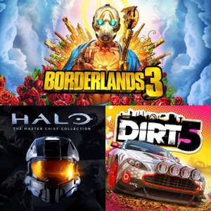 Xbox Free Play Days - Borderlands 3, DIRT 5 & Halo The Master Chief Collection