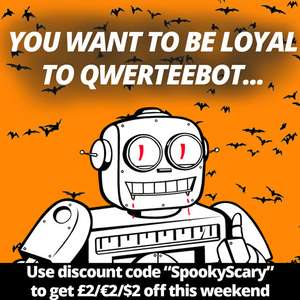 £2 discount using code @ Qwertee