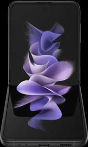 Customer Return - Samsung Galaxy Z Flip3 5G 128GB Flip Phone in Phantom Black £665 (UK Mainalnd) at ElekDirect
