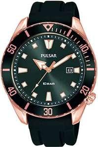 PULSAR (Seiko family) Analog Quartz Watch with Silicone Strap PG8312X1, £29.99 from Rubicon watches via Amazon