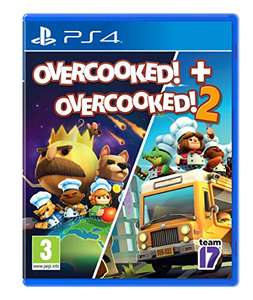 Overcooked! + Overcooked! 2 (PS4) - £7.99 (+£2.99 Non Prime) delivered @ Amazon