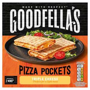 Goodfella's Pizza Pockets Triple Cheese or Pepperoni 250g £1.00 @ Iceland