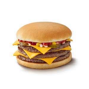 McDonald's Monday 18/10 - Triple Cheeseburger / McMuffin 99p each - via app @ McDonald's