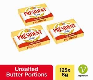 Presidential individual butter 8g x 125 1kg £3 instore @ Poundland Huddersfield