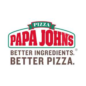 50% off pizza orders over £30 with code (Nationwide) at Papa John's