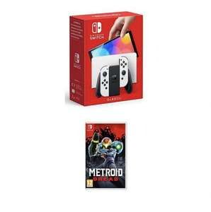 Nintendo Switch OLED + Metroid Dread (£309 at checkout) instore @ Tesco (Dunfermilne)