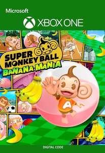 Super Monkey Ball Banana Mania [Xbox One / Series X|S - Argentina via VPN] £3.80 using code @ Eneba / X Game Store