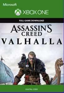 Assassins Creed Valhalla Xbox (Argentina / VPN required) £17.85 @ eneba / FrenzaGaming