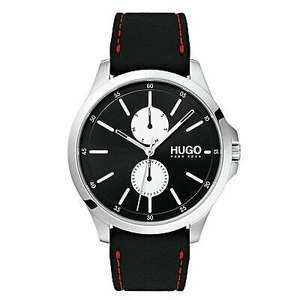 Hugo Boss Jump Black Leather Strap Watch £49.99 Free Delivery (UK Mainland) Very Limited Availability @ Argos Ebay