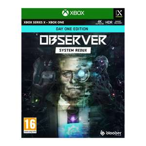 Observer System Redux - Day One Edition (Xbox Series X) £14.95 delivered @ The Game Collection