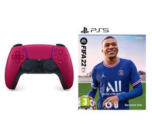 PlayStation Fifa 22 PS5 & Cosmic Red PS5 DualSense Wireless Controller Bundle - £99 delivered @ Currys