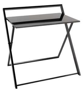 Habitat Compact Folding Office Desk, Black - £24 + free Click & Collect @ Argos