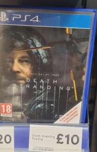 Death Stranding PS4 £10 @ Tesco Extra Wishaw