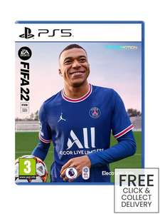 FIFA 22 for PS5 (Free Click & Collect Delivery) - £44.99 @ Very
