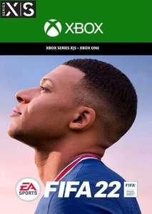 FIFA 22 [UK Xbox Series X|S Digital Download Version] - £49.99 @ cdkeys