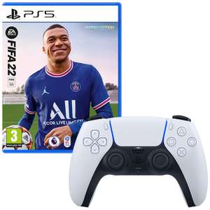 FIFA 22 (PS5) & PlayStation 5 DualSense Wireless Controller £89.99 at Smyths Toys