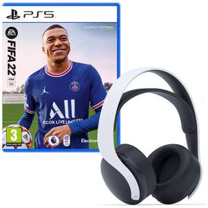 FIFA 22 (PS5) & PlayStation PULSE™ 3D Wireless Gaming Headset £119.99 at Smyths Toys