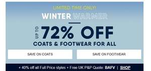 Up to 72% off Coats, Jackets and Footwear at Lands' End