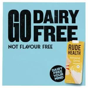 20% off (healthy food, oats, cereals, alt milks etc) with code at Rude Health