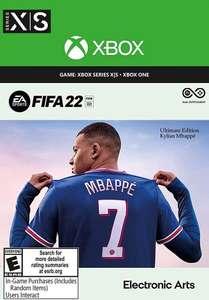 Fifa 22 Ultimate UK edition including 4600 Fifa points £66.37 @ eneba / gamerusforenba