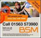20% OFF BLOCK BOOKING OF 10HRS DRIVING LESSONS @BSM