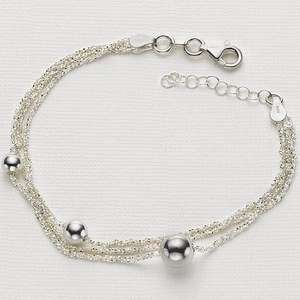 Pia To Infinity Silver Bracelet & Silver polish - Half price and £5 off - £15.99