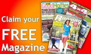 Free copies of Good Homes, Running Fitness and 4x4 Magazines