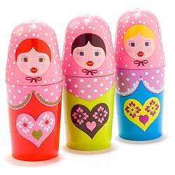 Russian Doll Lip Balm £2.99 + £2.95 P&P @ Totally funky
